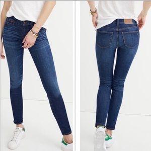 "Madewell High Rise 10"" skinny jeans sz 24"